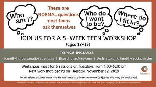 5-Week Teen Group