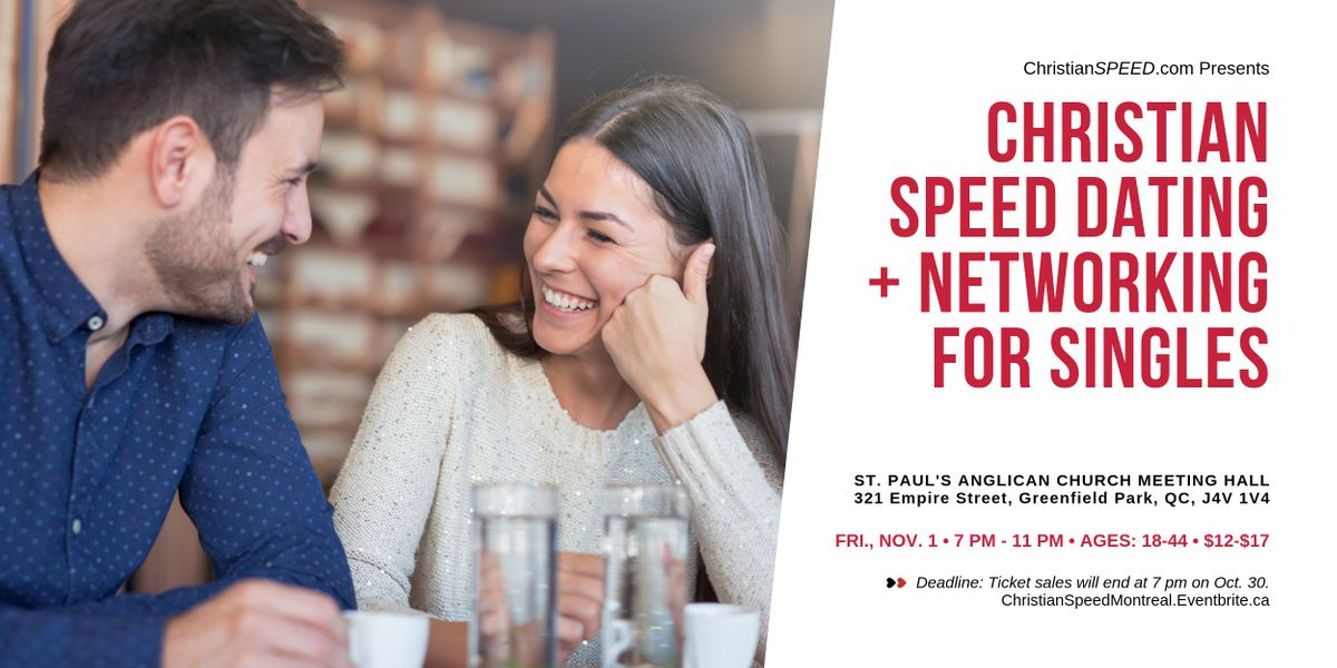 Speed dating montreal quebec