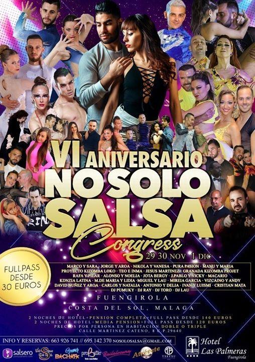 Vi Aniversario No Solo Salsa Congress