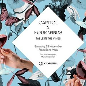 Capitol X Four Winds - Table in the Vines