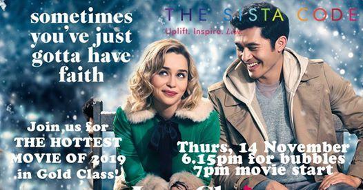 The Sista Code Last Christmas Movie Night