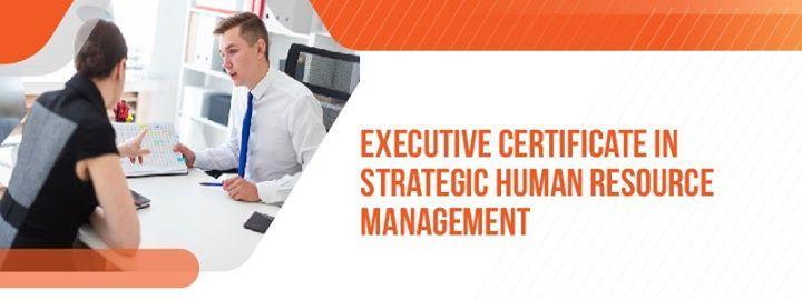 Executive Certificate in Strategic HR Management (ESHRM)