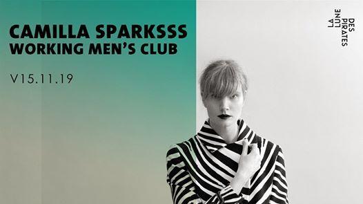 Camilla Sparksss  Working Mens Club