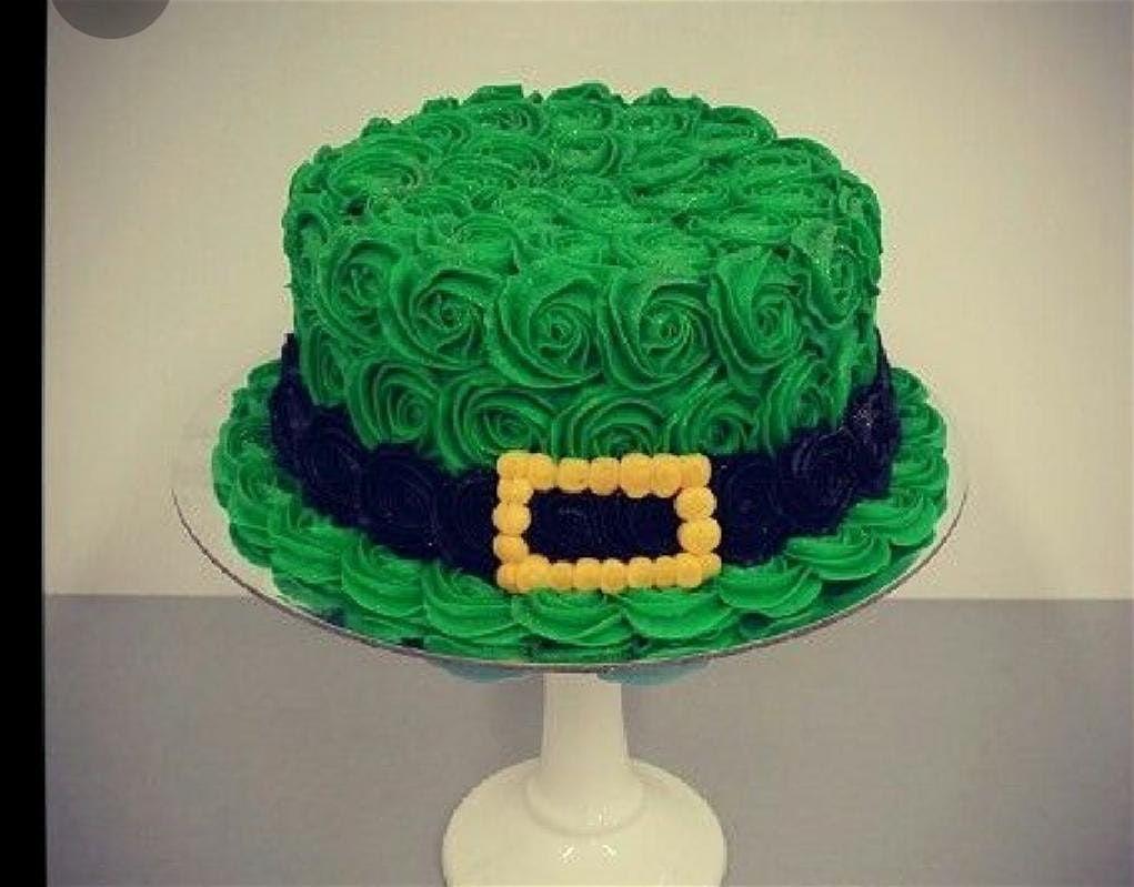 Stupendous Luck O The Irish Cake Decorating Class At Shadesville Red Lion Personalised Birthday Cards Veneteletsinfo