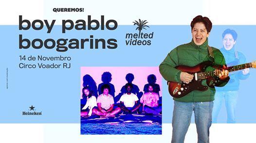 Boy Pablo e Boogarins no Rio de Janeiro (Queremos)