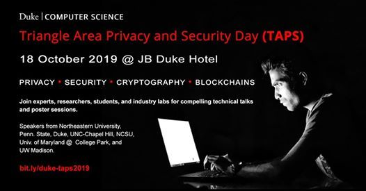 Triangle Area Privacy and Security Day (TAPS)