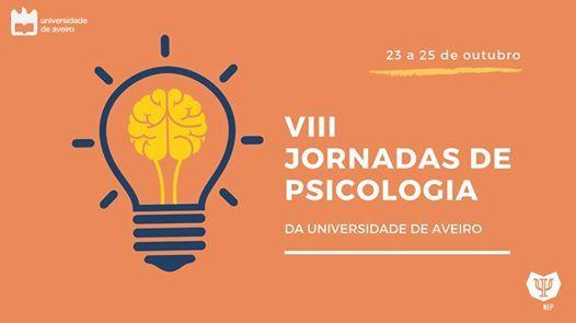 VIII Jornadas de Psicologia da Universidade de Aveiro