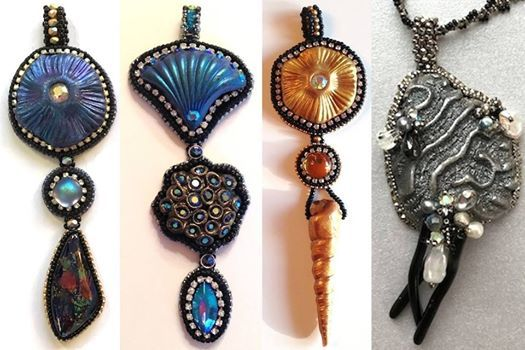Intro to Bead Embroidery - Paulette Baron