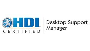 HDI Desktop Support Manager 3 Days Training in Hamburg