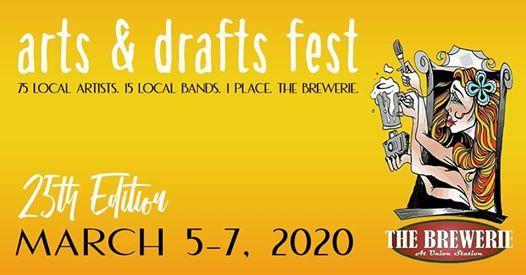 Arts & Drafts Fest 25th Edition - Spring 2020