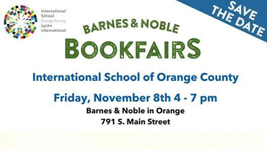 Barnes Noble Bookfair Fundraiser At International School