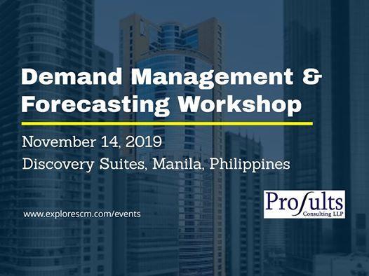 Demand Management & Forecasting Workshop
