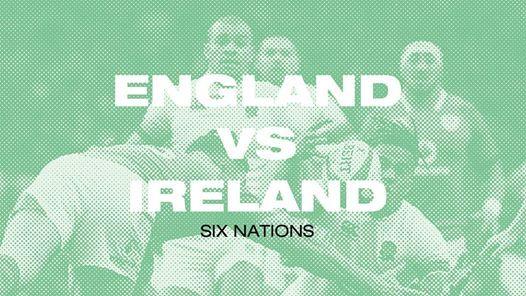 (FREE) England vs Ireland 6 Nations On The Big Screen