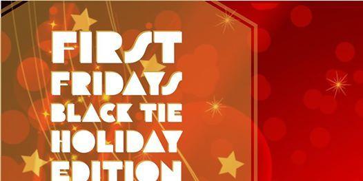 First Fridays Black Tie Schomburg Angel Holiday Edition