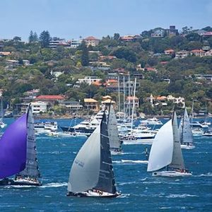 Harbour Cruise Sydney-to-Hobart Race Start