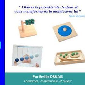 Formation Montessori  Principes  Langage