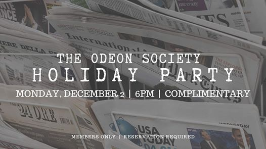 The Odeon Society Holiday Party