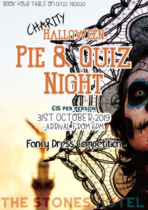 Charity Halloween Pie & Quiz Night