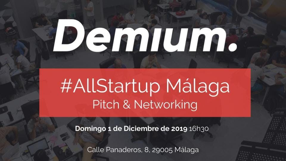 Pitch & Network AllStartup Mlaga