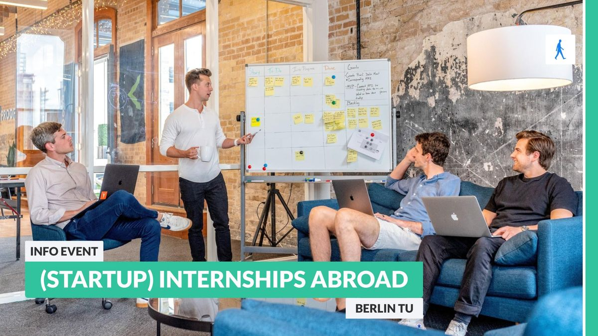 Aiesec Münster go abroad: info event about (startup) internships abroad