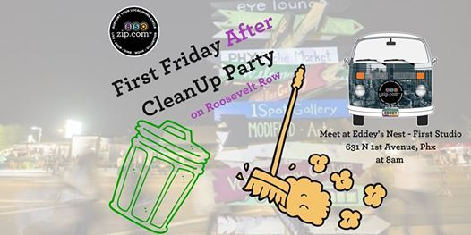 850zip First Friday AFTER Party CleanUp