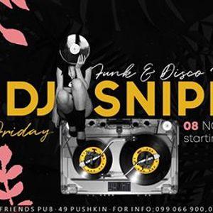 Funk & Disco fusion with DJ Sniper