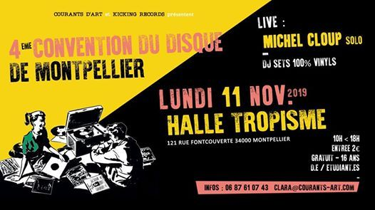 4 Convention du Disque  Montpellier  Halle Tropisme