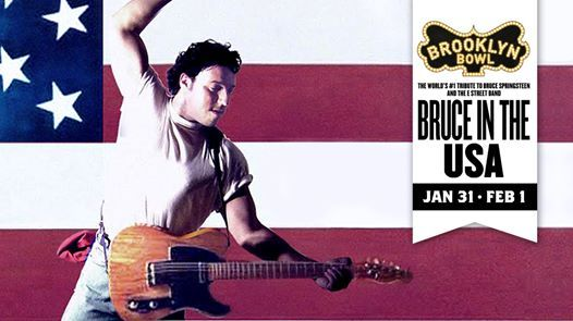 Bruce in the USA at Brooklyn Bowl