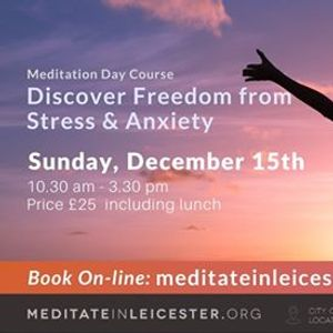Discover Freedom from Stress & Anxiety