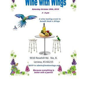 Wine with Wings (Facility closed except for event)