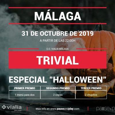 Trivial Especial Halloween en Pause&ampPlay Vialia Mlaga