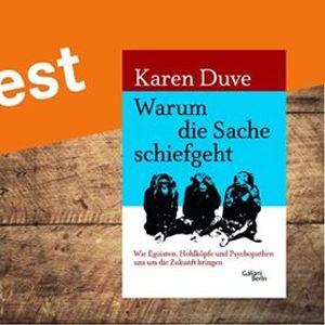 """Lesung aus &quotWarum die Sache schiefgeht"""""""