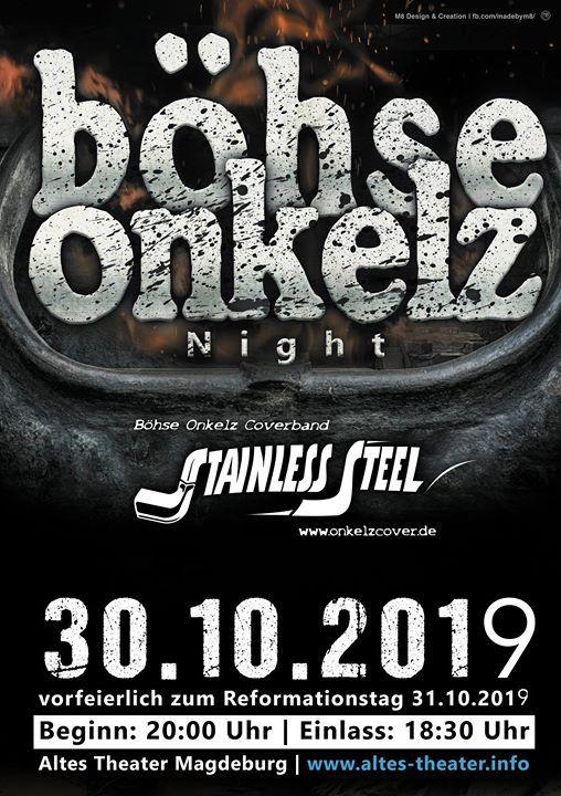 Böhse onkelz coverband konzerte 2019