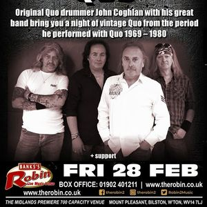 The Robin presents John Coghlans Quo