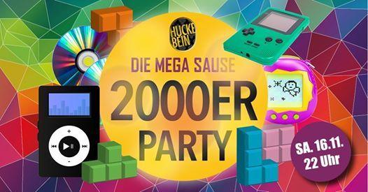Die 2000er Party Mega Sause
