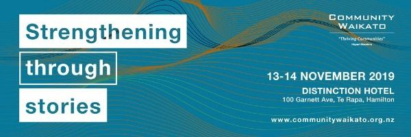 Strengthening through Stories - Community Waikato Conference