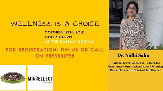 Wellness is a choice by Mindellect