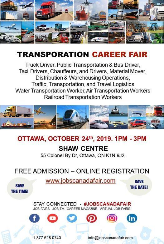 Ottawa Transportation JOB FAIR
