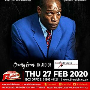 The Robin 2 presents an evening with Frank Bruno