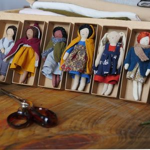 Little courage doll workshop with Hilary Jean Tapper