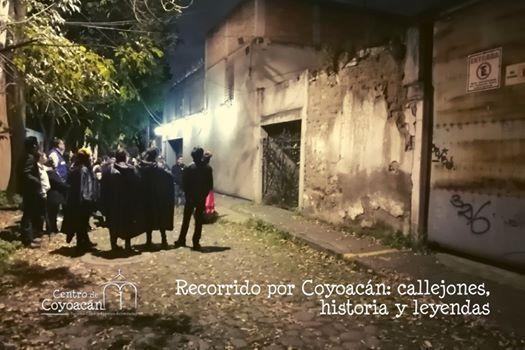 Recorrido por Coyoacn Callejones Historia y Leyendas