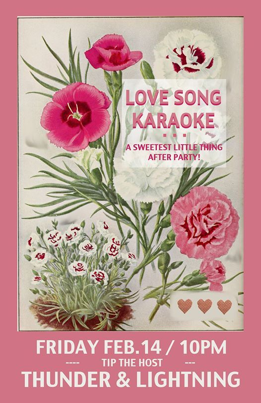 Love Song Karaoke Sweetest Little Thing After Party