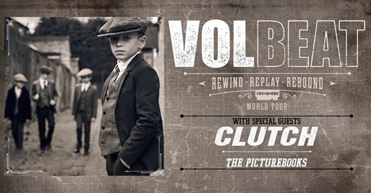 Volbeat Rewind Replay Rebound World Tour