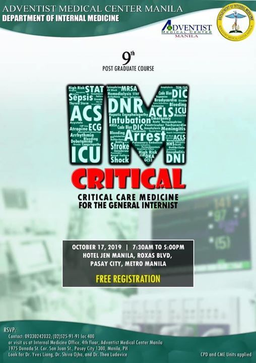 IM Critical Critical Care Medicine for the General Internists
