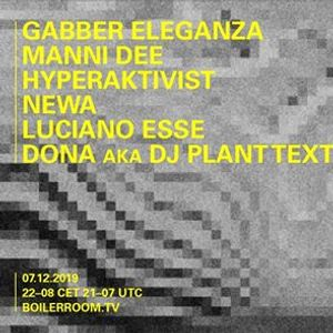 Boiler Room Taranto Sound Department 7.12.2019