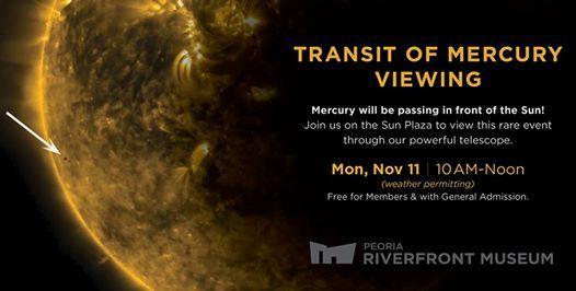 Transit of Mercury Viewing