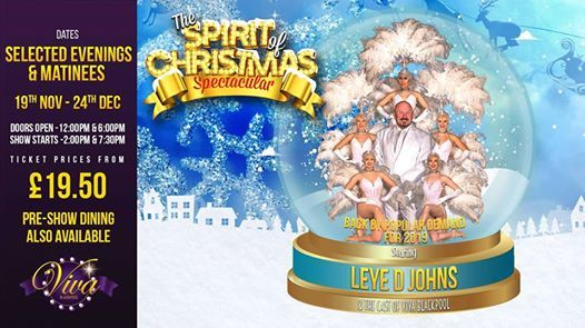 The Spirit Of Christmas Spectacular 2019