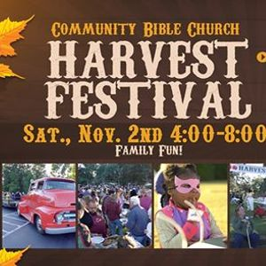 Community Bible Church Harvest Festival