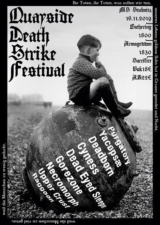 Quayside Death Strike Festival 2019