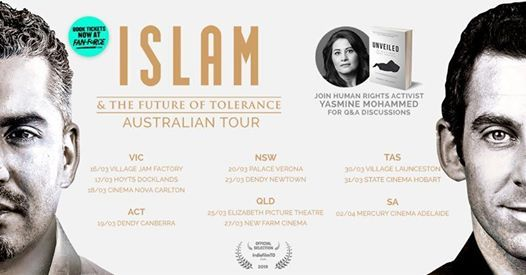 Islam and the Future of Tolerance - Village Cinemas Jam Factory